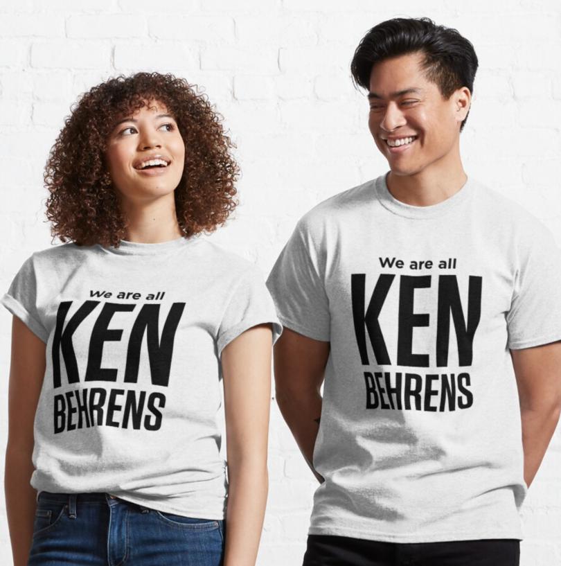 Ken Behren t-shirts