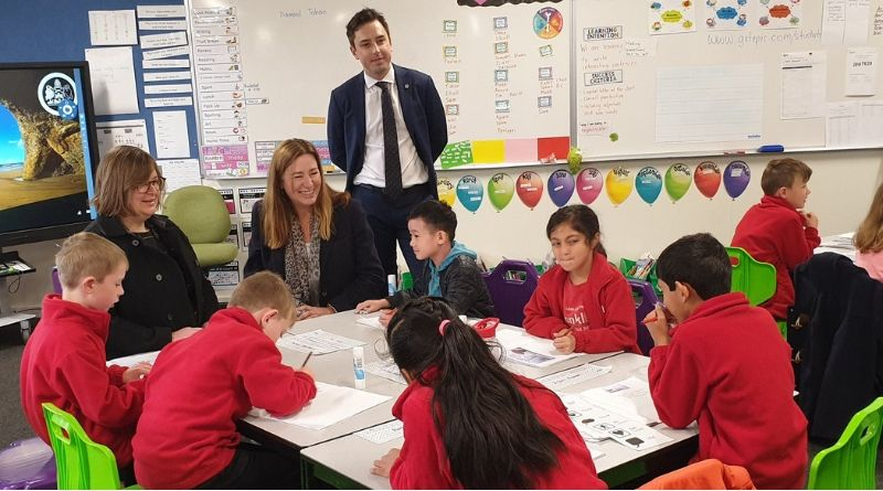 Expanding schools for Canberra's growing community