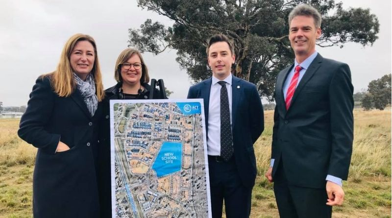 Building more schools for Canberra's future students